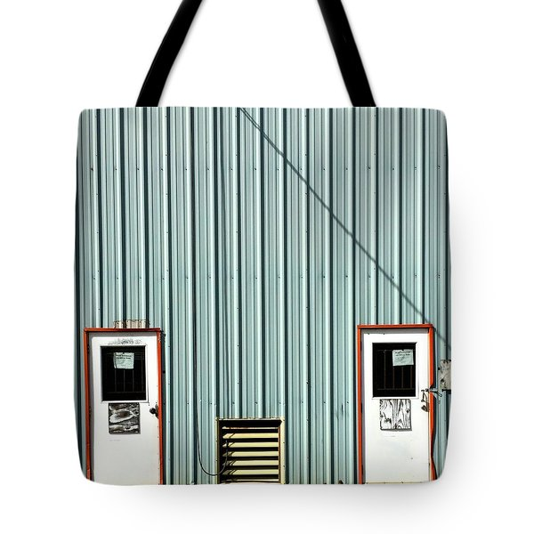 Double Doors Tote Bag