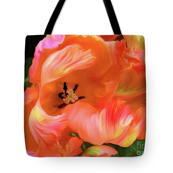 Double Dutch Tulips Tote Bag