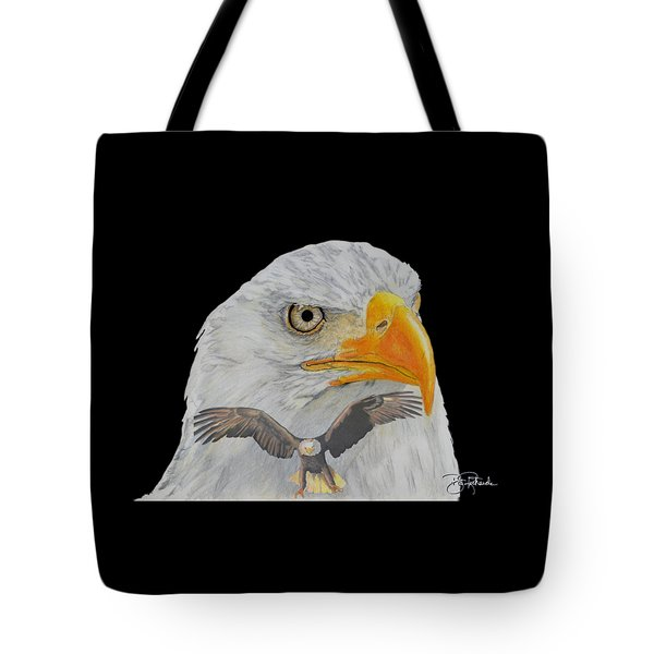 Double Eagle Tote Bag by Bill Richards