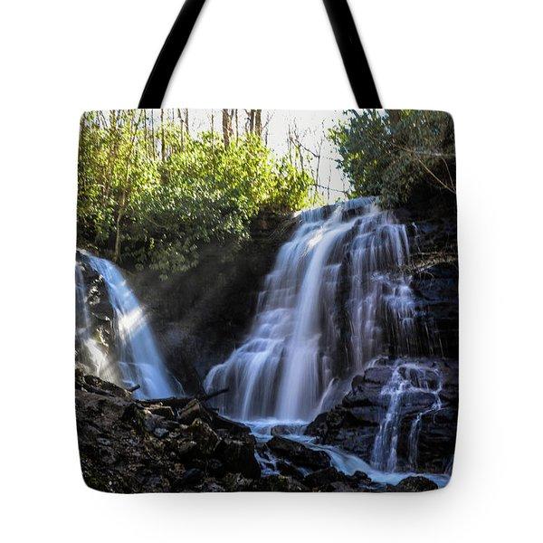 Double Falls Tote Bag