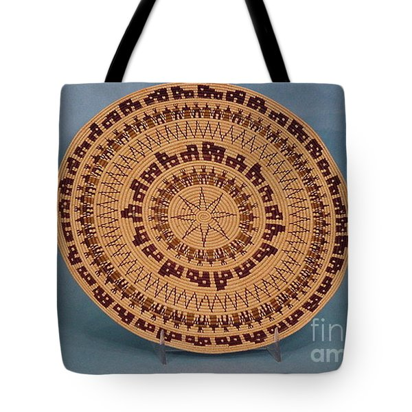 Double Friendship Plate Basket Tote Bag by Darlene Ryer