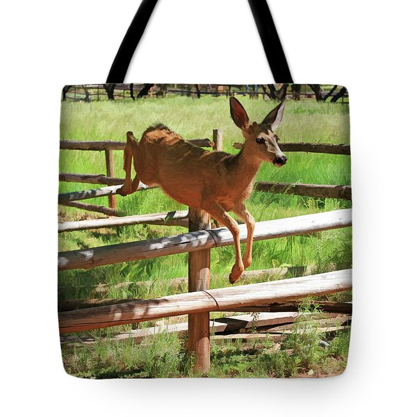 Double Jump Tote Bag