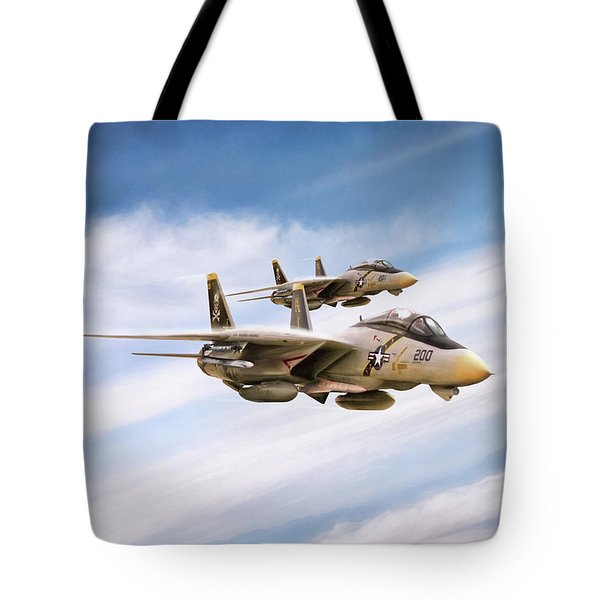 Tote Bag featuring the digital art Double Nuts by Peter Chilelli