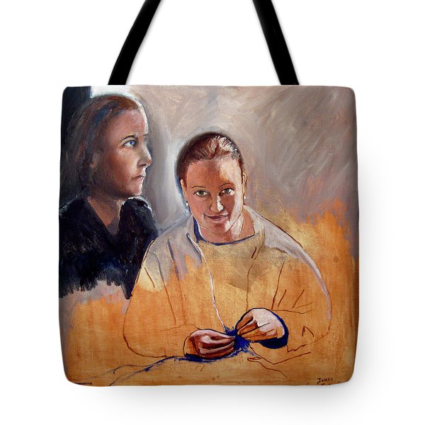 Double Portrait Tote Bag