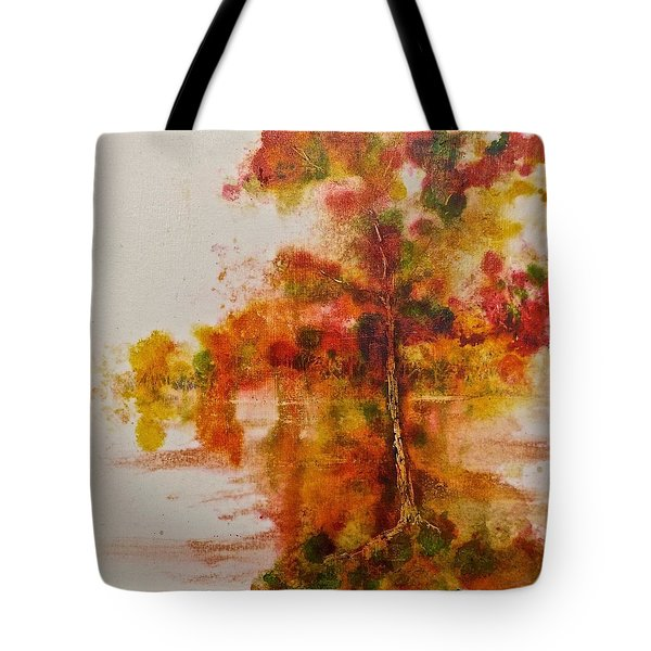 Double Reflection Tote Bag