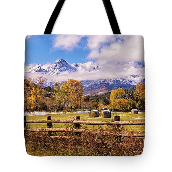 Double Rl Ranch Tote Bag