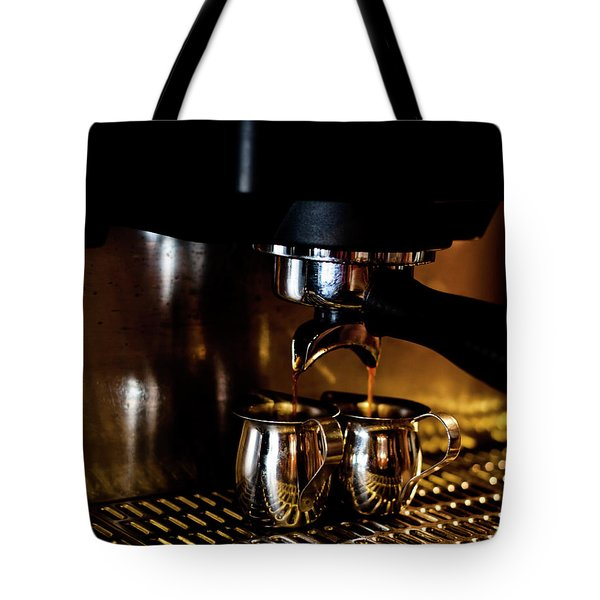 Double Shot Of Espresso 2 Tote Bag