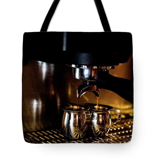 Double Shot Of Espresso 2 Tote Bag