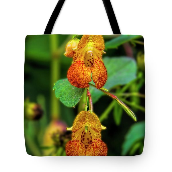 Double Shot Of Jewelweed Tote Bag
