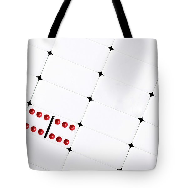 Tote Bag featuring the photograph Double Sixes by Tom Mc Nemar