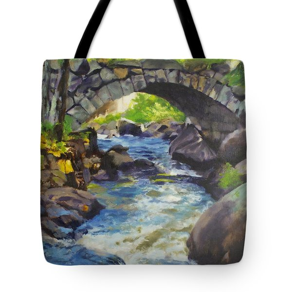 Double Stone Arch Bridge  Tote Bag
