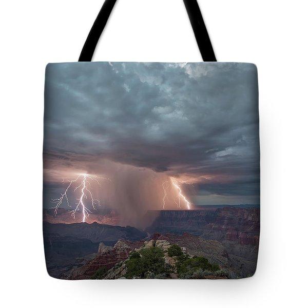 Double Strike Canyon Tote Bag