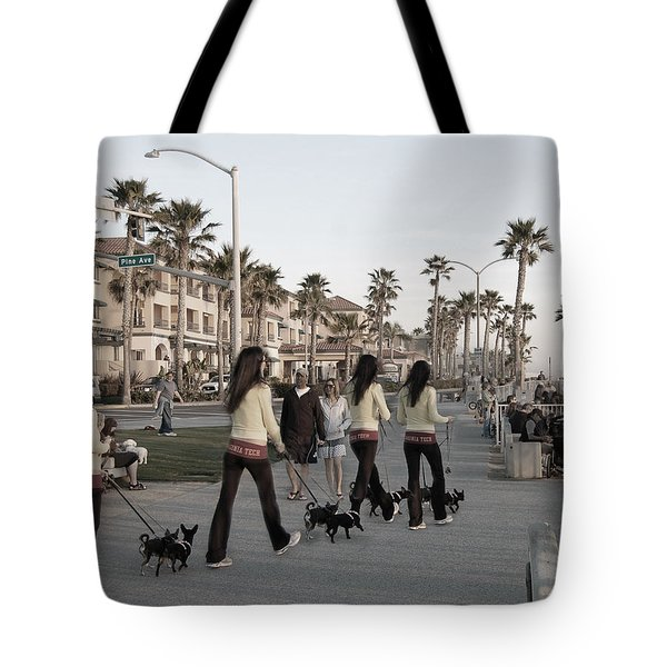 Double Take Tote Bag by Bill Dutting