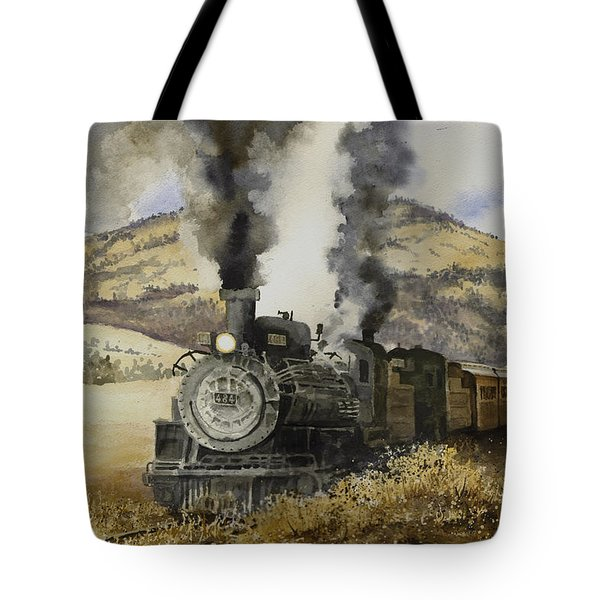 Double Teamin To Cumbres Pass Tote Bag