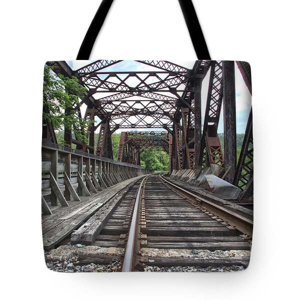 Double Truss Bridge #1679 On The Wmsr Tote Bag