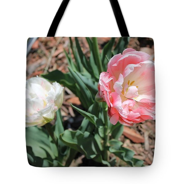 Double Tulip Tote Bag