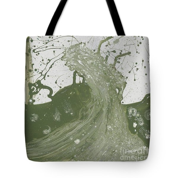 Double Up Wave Tote Bag