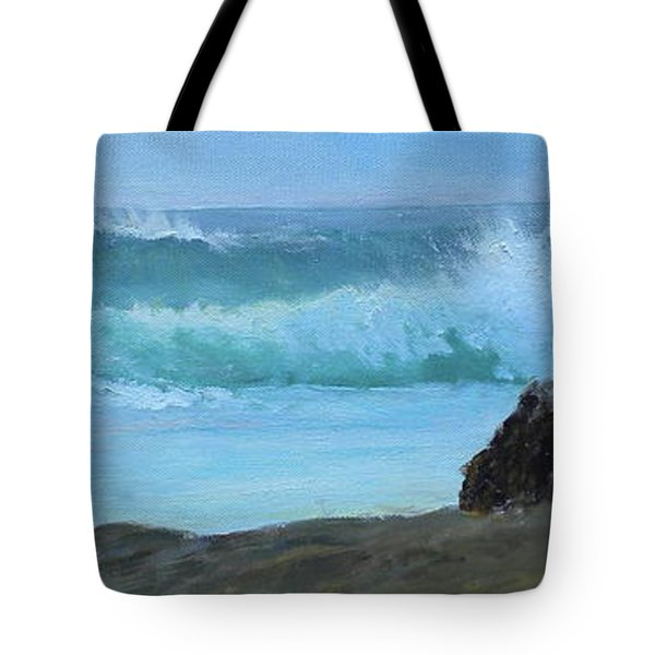 Double Wave Tote Bag