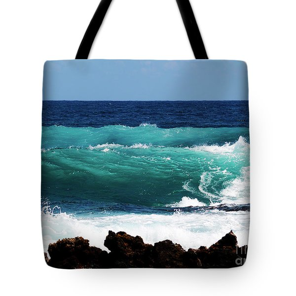Double Waves Tote Bag