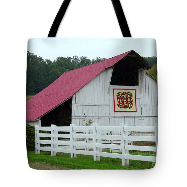 Double Wedding Ring Tote Bag