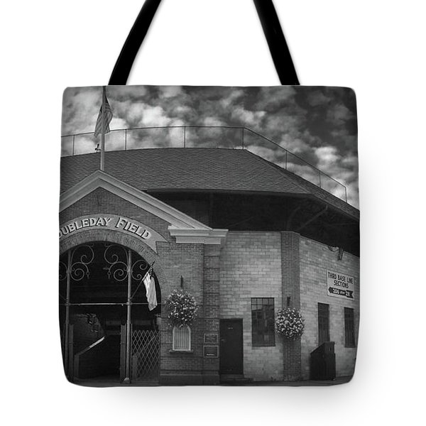 Doubleday Field Park Tote Bag