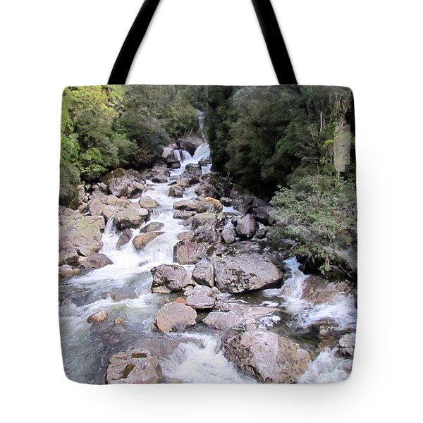 Doubtful Sound Tote Bag by Joyce Woodhouse