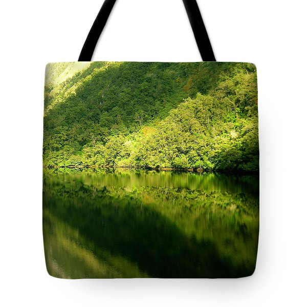 Doubtful Sound, New Zealand No. 4 Tote Bag
