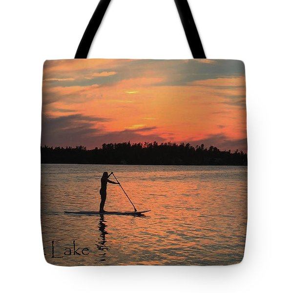 Doug Hobson, Red Rock Lake Tote Bag