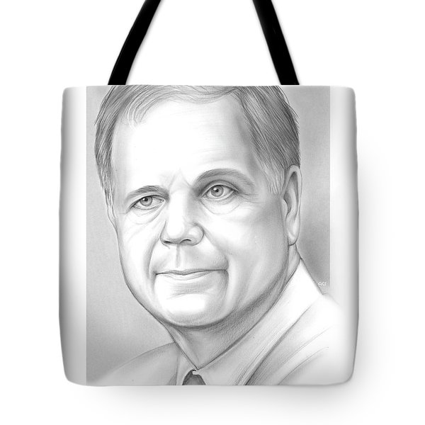 Doug Jones Tote Bag