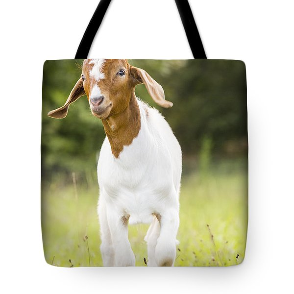 Dougie The Goat Tote Bag