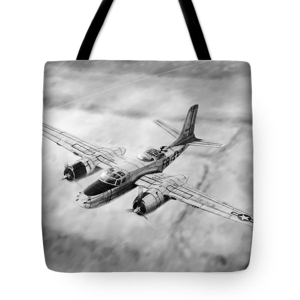 Douglas A-26 Invader Tote Bag