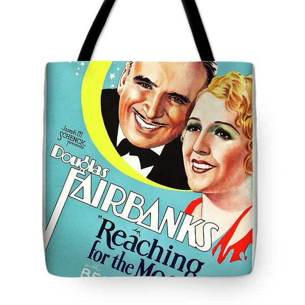 Douglas Fairbanks In Reaching For The Moon 1930 Tote Bag