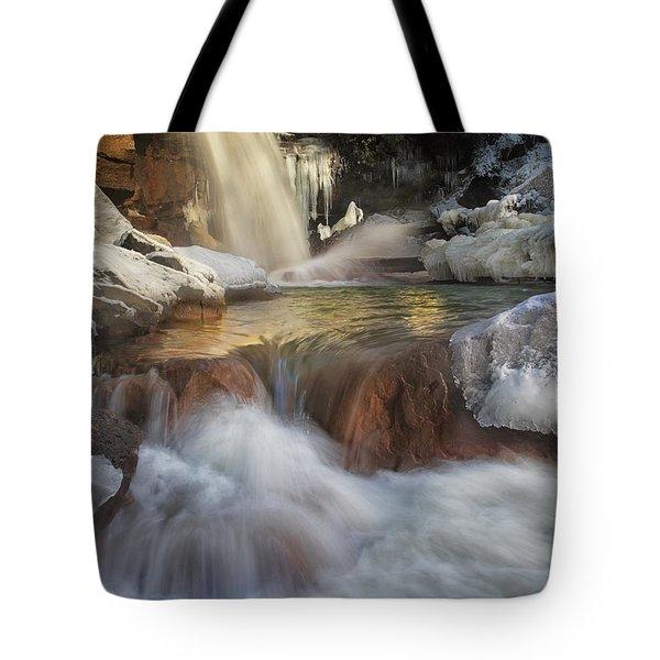Douglas Falls Flow Tote Bag