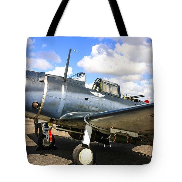 Douglas Sbd-5 Dauntless Tote Bag
