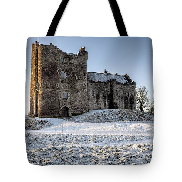 Doune Castle In Central Scotland Tote Bag