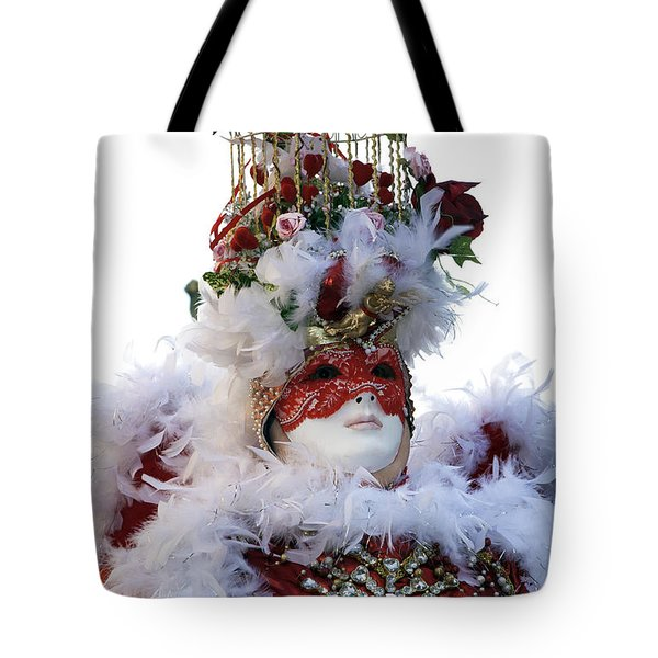 Dove Carnival Model Tote Bag by John Rizzuto