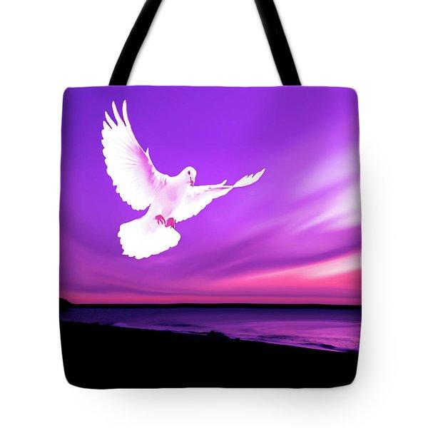 Dove Of My Dreams Tote Bag