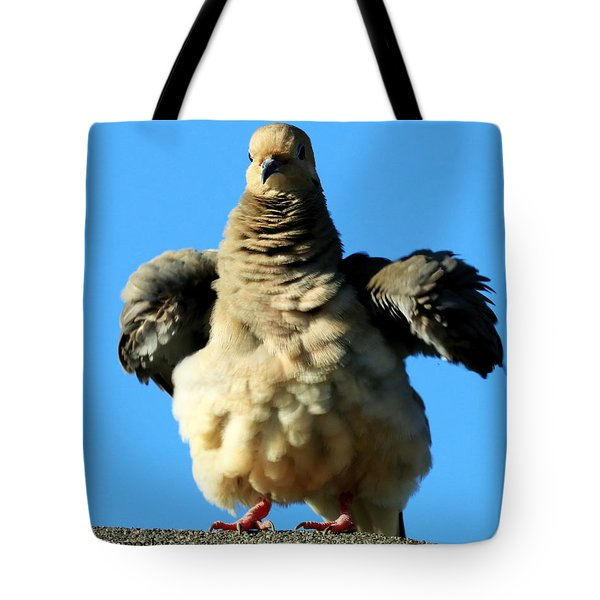 Dove On Steroids I Tote Bag
