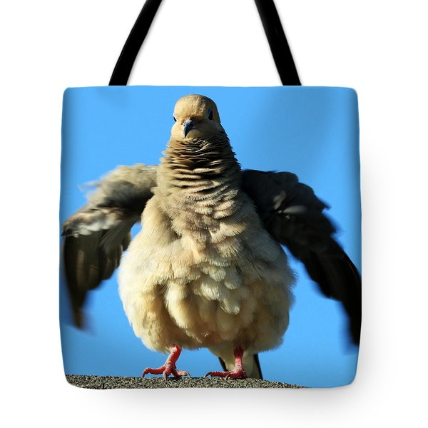 Dove On Steroids II Tote Bag