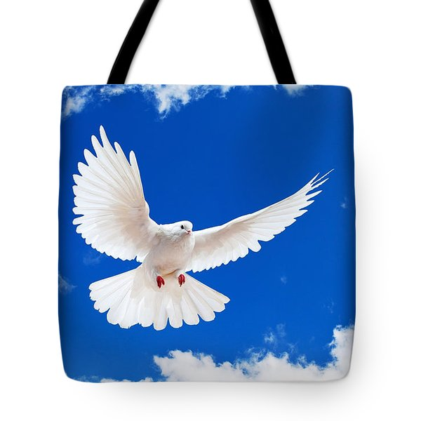 Dove Tote Bag