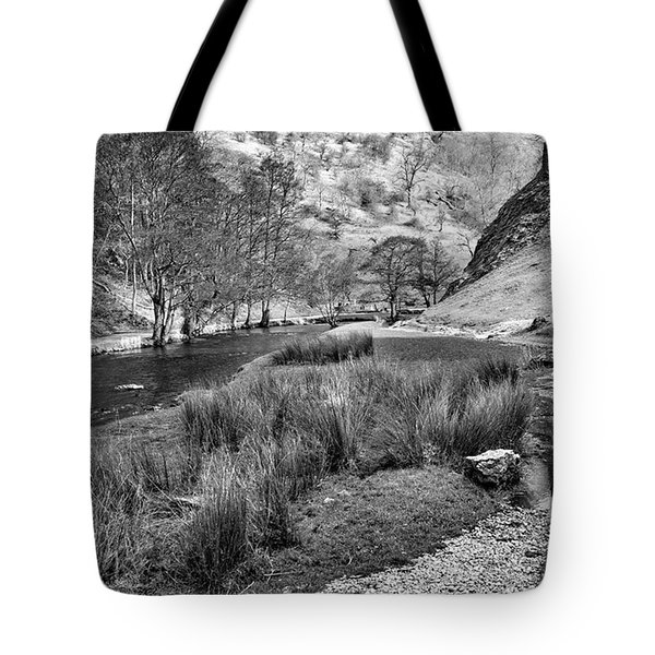 Dovedale, Peak District Uk Tote Bag by John Edwards