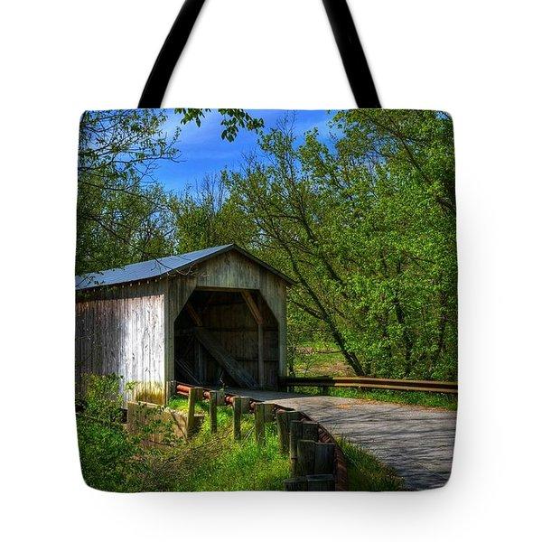 Dover Covered Bridge Tote Bag
