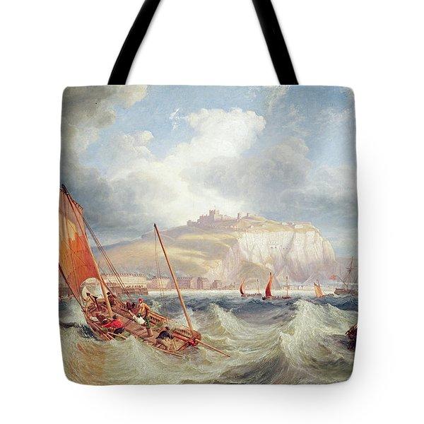 Dover Tote Bag by John Wilson Carmichael