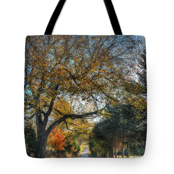 Down A Berger Lane Tote Bag