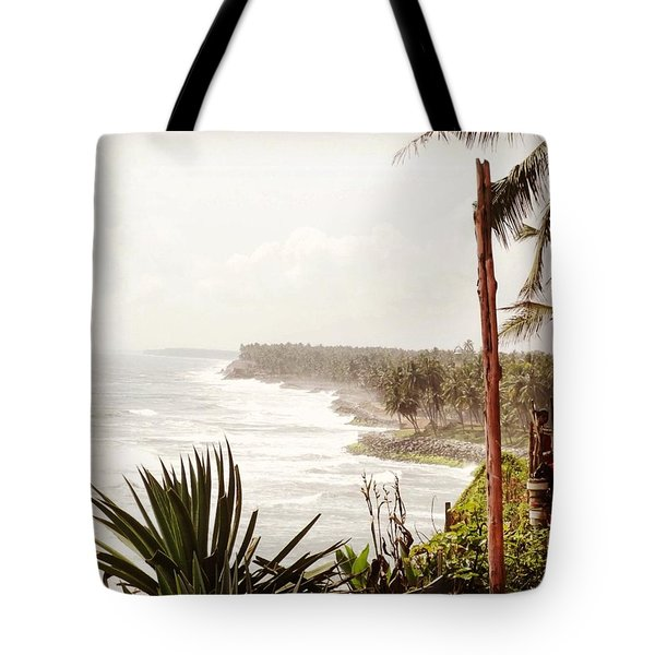 Down At The Beach In Kerala - Just A Tote Bag