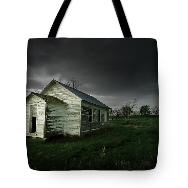 Down At The Schoolyard Tote Bag