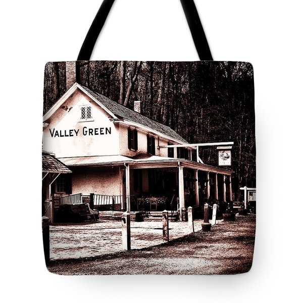 Down At Valley Green Tote Bag by Bill Cannon