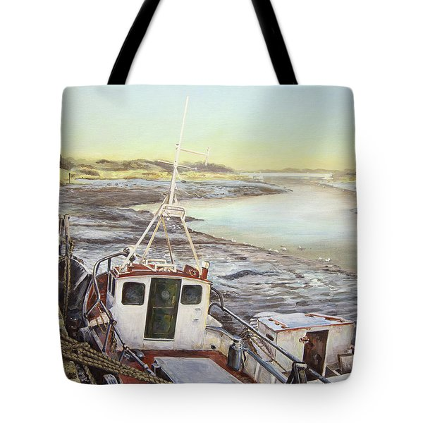 Down By The Docks Tote Bag by Marty Garland
