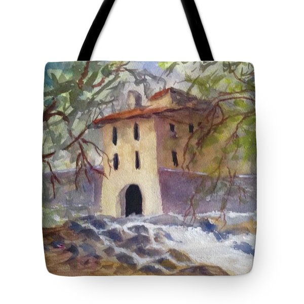 Down By The Old Mill Stream Tote Bag