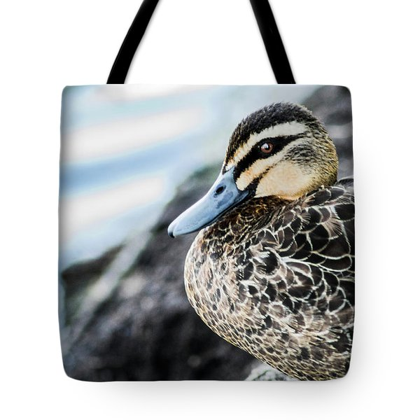 Down By The Shore  Tote Bag